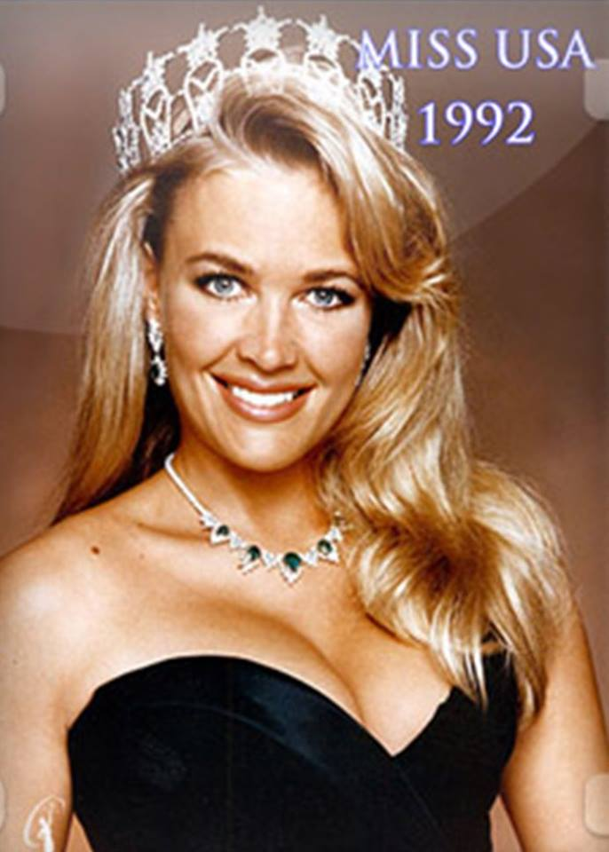Miss USA 1992:  Shanon La Rhea Marketic (Semi-finalist MU92) from California 20525328