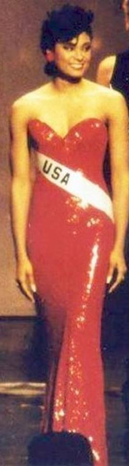 Miss U.S.A.1990 - Carol Anne Marie Gist (1st Runner Up MU90) from Michigan 20525428