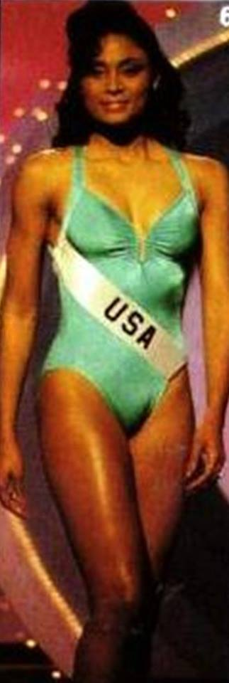 Miss U.S.A.1990 - Carol Anne Marie Gist (1st Runner Up MU90) from Michigan 20526219