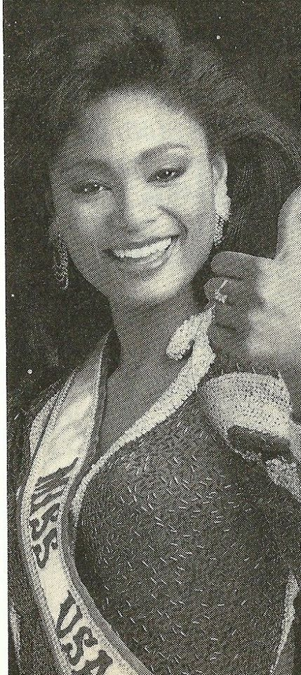 Miss U.S.A.1990 - Carol Anne Marie Gist (1st Runner Up MU90) from Michigan 20597029