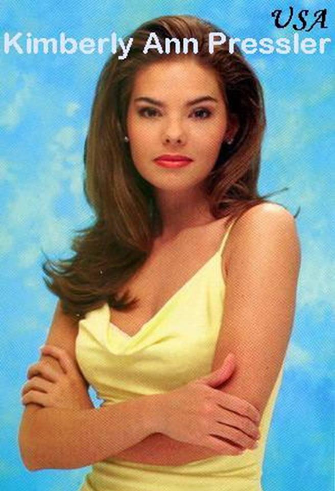 Miss USA 1999: Kimberly Ann Pressler from New York 20597039