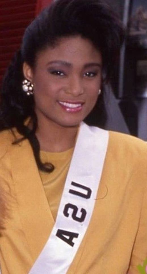 Miss U.S.A.1990 - Carol Anne Marie Gist (1st Runner Up MU90) from Michigan 20597123