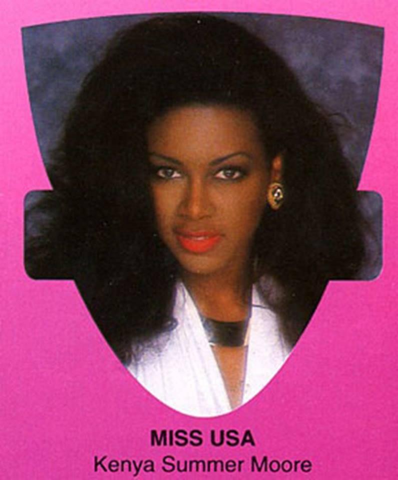 Miss USA 1993: Kenya Summer Moore (Finalist - Top 6 MU93) from Michigan 20620712