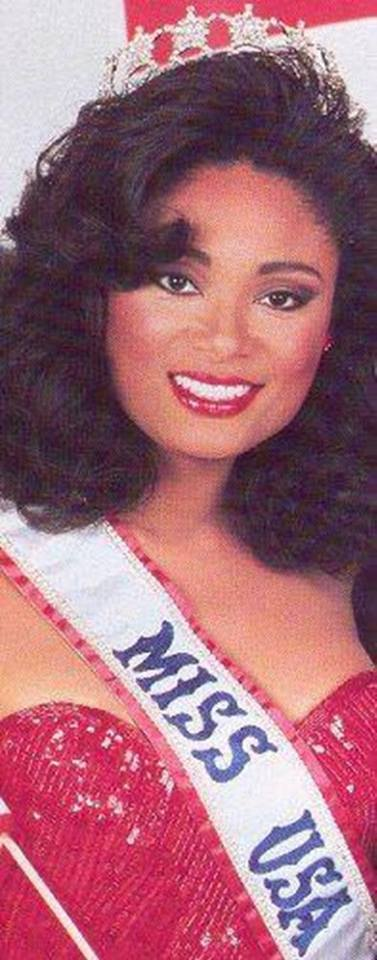 Miss U.S.A.1990 - Carol Anne Marie Gist (1st Runner Up MU90) from Michigan 20620912