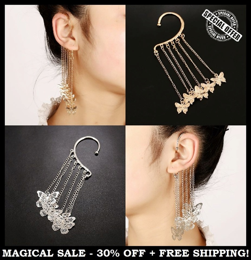 Ear Cuffs  the new trend? 25446012