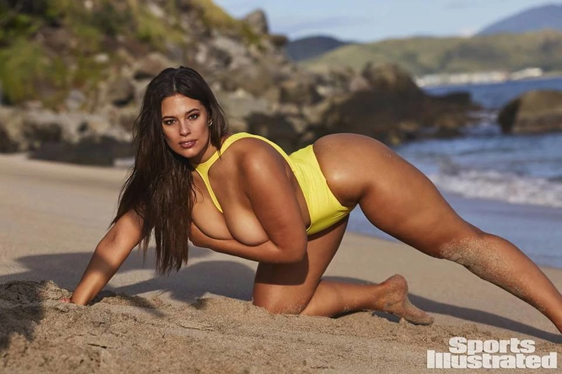 "Ashley Graham in her 2018 ""Sports Illustrated"" photo shoot 27972110"