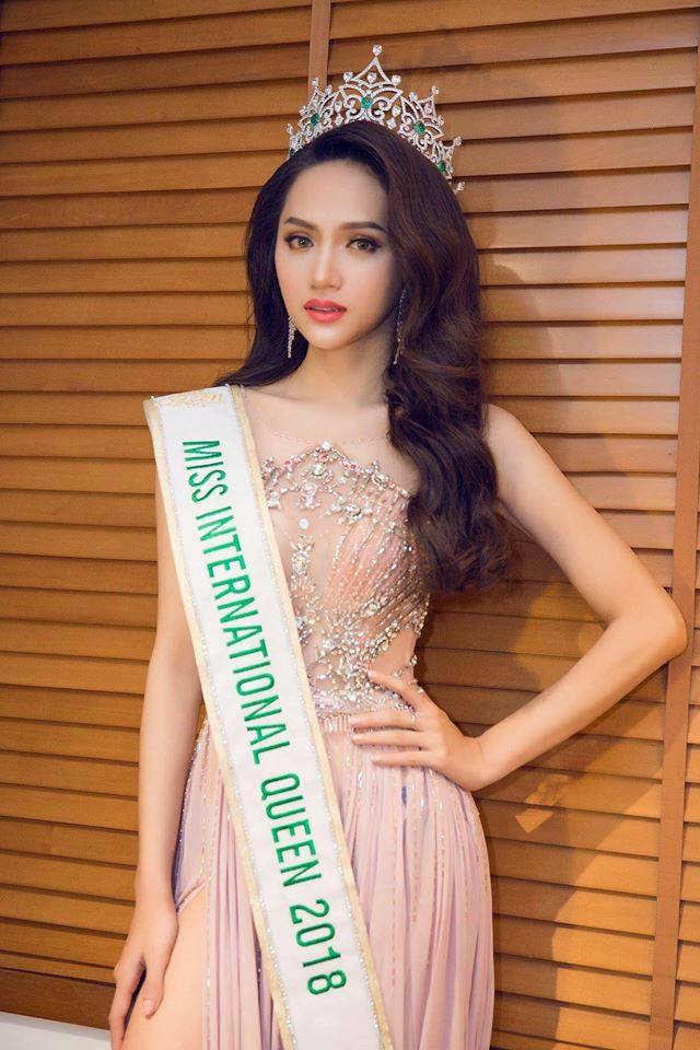 Miss International Queen 2018 Is Nguyen Huong Giang from Vietnam  - Page 3 29027110