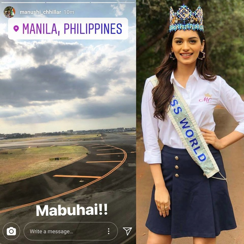 The Official Thread of Miss World 2017 ® Manushi Chhillar - India - Page 4 31564110