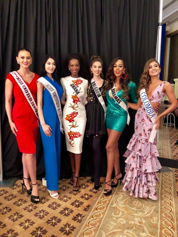 © PAGEANT MANIA © MISS UNIVERSE 2018 - OFFICIAL COVERAGE Finals - Page 24 47215010