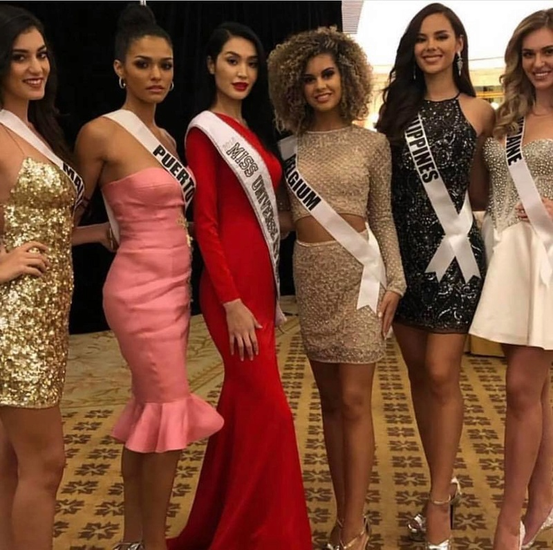 © PAGEANT MANIA © MISS UNIVERSE 2018 - OFFICIAL COVERAGE Finals - Page 23 47431710