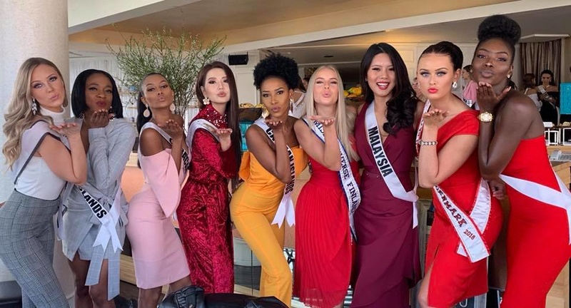 © PAGEANT MANIA © MISS UNIVERSE 2018 - OFFICIAL COVERAGE Finals - Page 22 7130