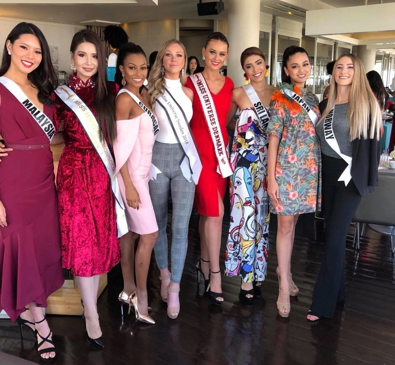 © PAGEANT MANIA © MISS UNIVERSE 2018 - OFFICIAL COVERAGE Finals - Page 22 8113