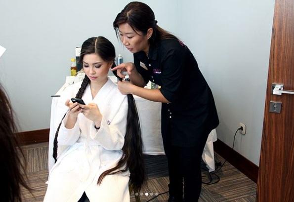 Road to Miss Kazakhstan 2018 is Alfïya Ersayın C3e11910