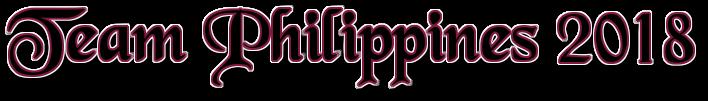 Team PHILIPPINES 2018 Coollo48