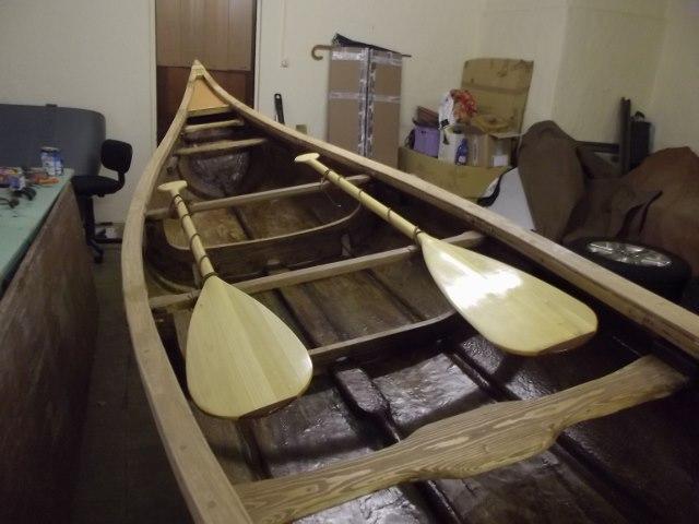 réplique canoë Birch Bark Dscf9617