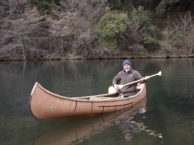 réplique canoë Birch Bark Dscf9716