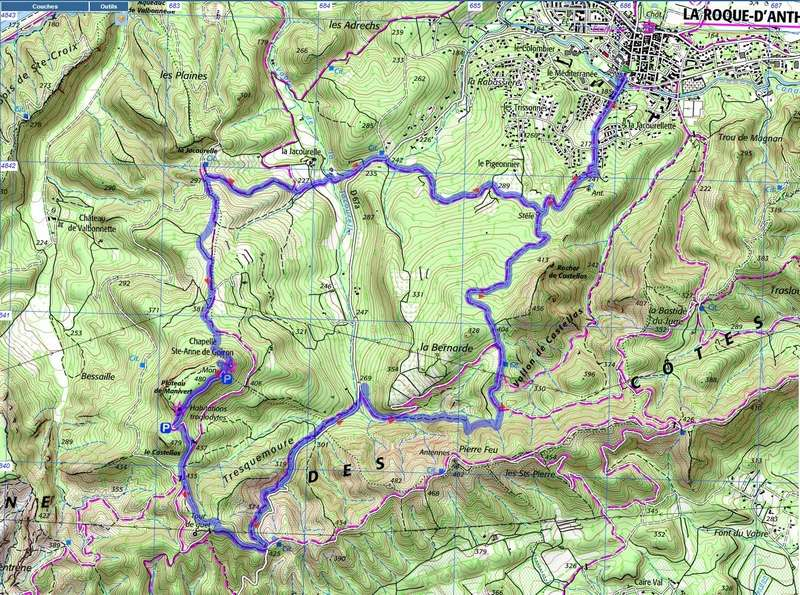 Randonnée plus calme de JM à la Roque-d'Antheron-Jeudi 14 décembre 2017 00017