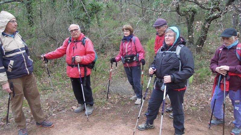 Randonnée plus calme de JM au Mont Aurelien le jeudi 25 Janvier 2018 00220