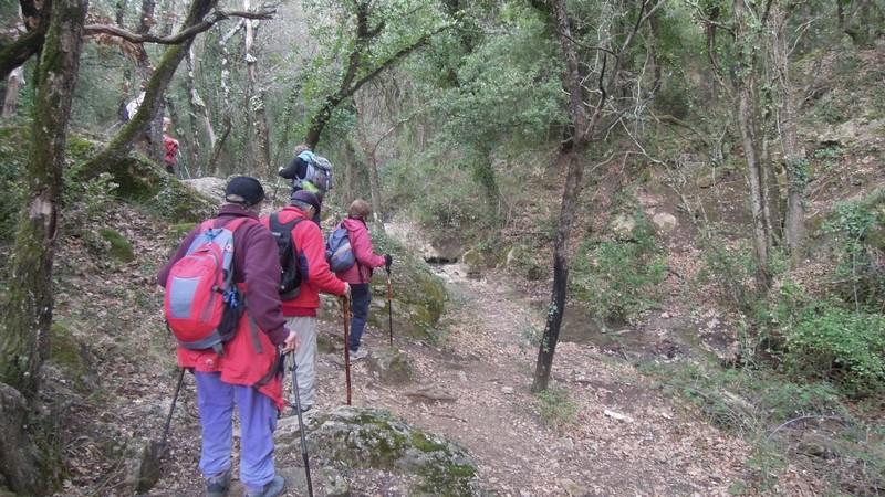 Randonnée plus calme de JM au Mont Aurelien le jeudi 25 Janvier 2018 00421