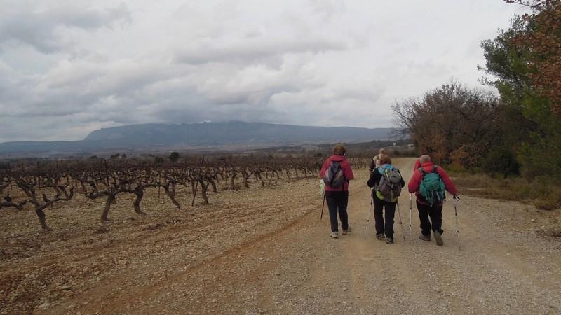 Randonnée plus calme de JM au Mont Aurelien le jeudi 25 Janvier 2018 02019