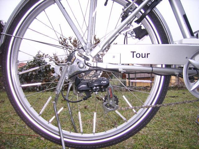 """Vendo Frisbee  Euro 7 tour 26"""" Ssa51212"""