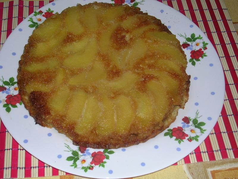 Cateau aux pommes a l''envers Photo_10