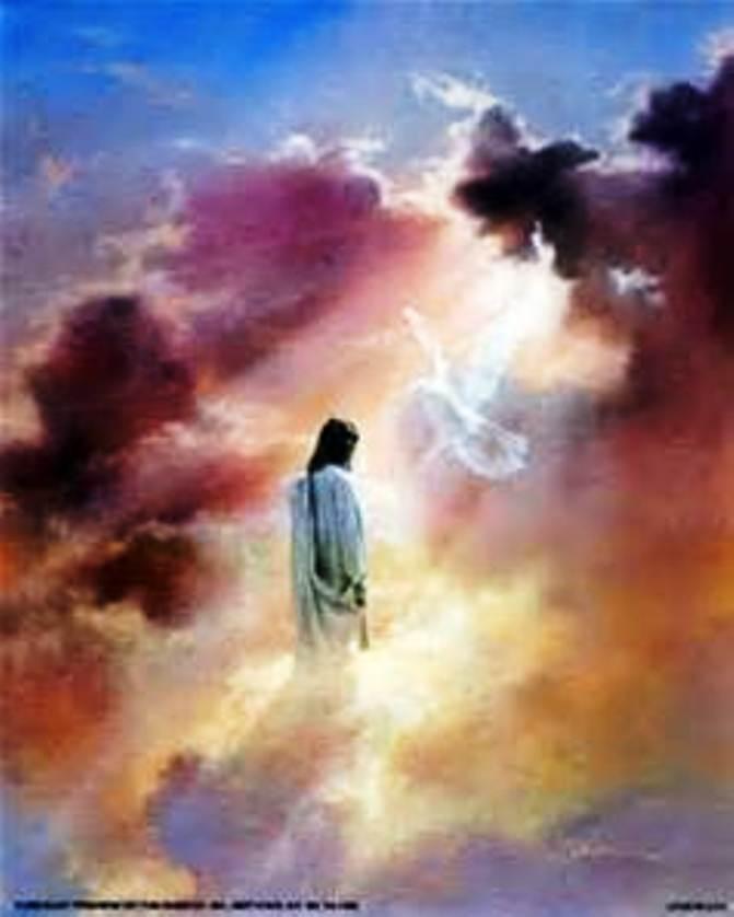 Ascension: De la même façon qu'il est ressuscité, il est monté au ciel, Ascens11
