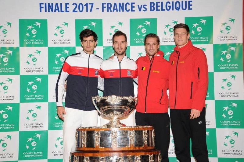 COUPE DAVIS 2017 - FINALE BELGIQUE/FRANCE - LILLE STADE PIERRE MAUROY 23783610