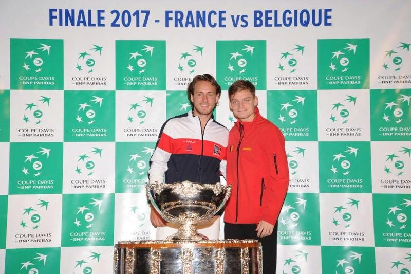 COUPE DAVIS 2017 - FINALE BELGIQUE/FRANCE - LILLE STADE PIERRE MAUROY 23826111