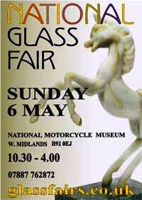 UK National Glass Fair - Sunday 6th May Flyerf10