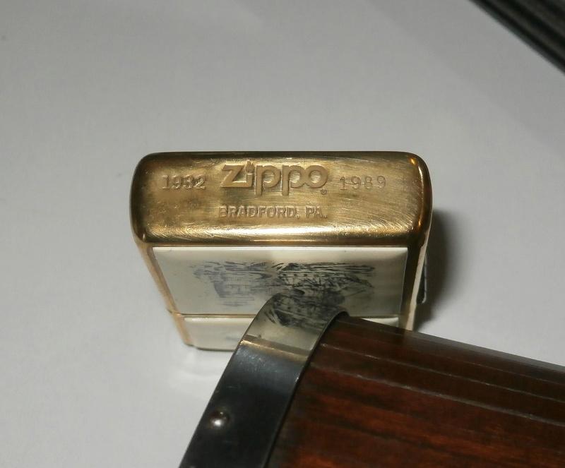 zippo sterling silver Pb081310