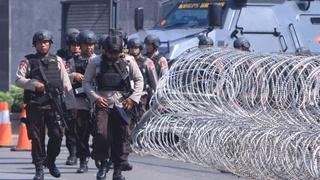Vijf agenten gedood bij opstand in gevangenis Indonesië  1103