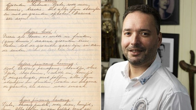 Marc wil met zijn Indische gerechten 'terug naar de basissmaak van oma Miet' 1112