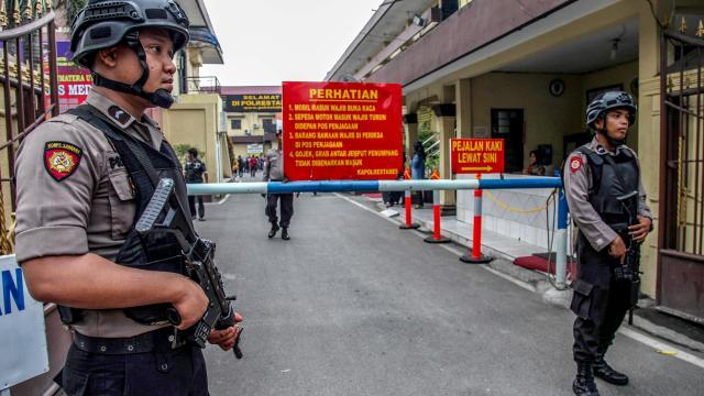 Indonesië verscherpt antiterrorismewetgeving na aanslagen Oost-Java  1119