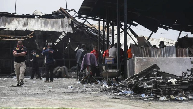 Zeker 47 doden bij ontploffing in vuurwerkfabriek Indonesië  115