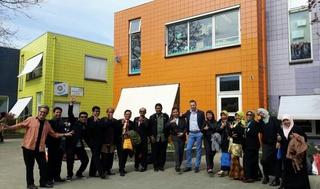 14 beste leerkrachten uit Indonesië op bezoek bij basisschool de Eglantier Tanthof.  192