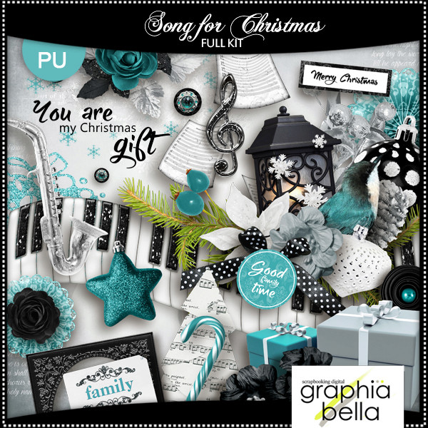 Song for Christmas (full kit) par Graphia Bella Gbe_so14