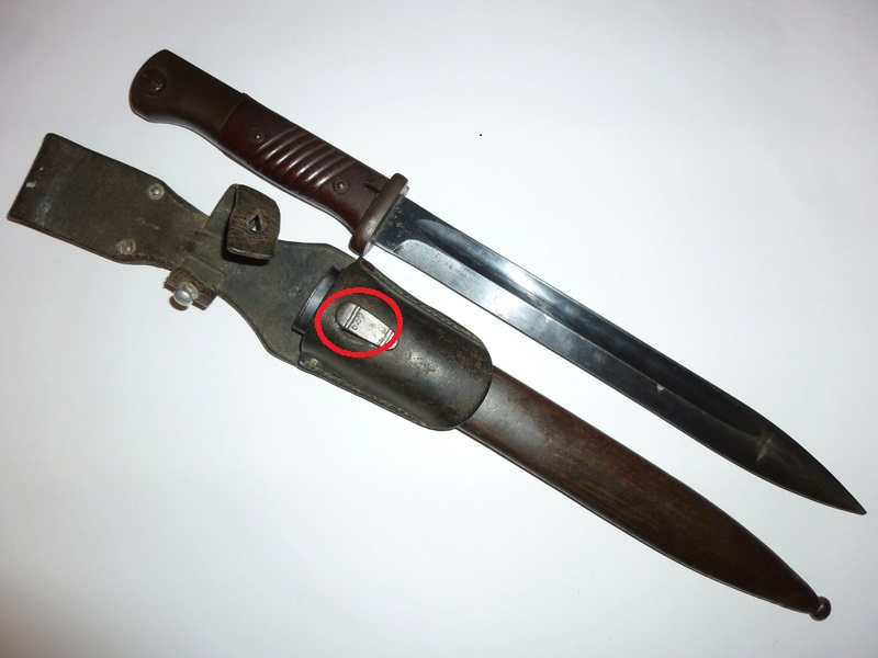 baionette Allemande 98k P1250110