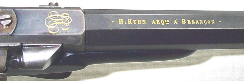 rolling block a boitier bronze ou laiton - Page 2 Kuhn-h10