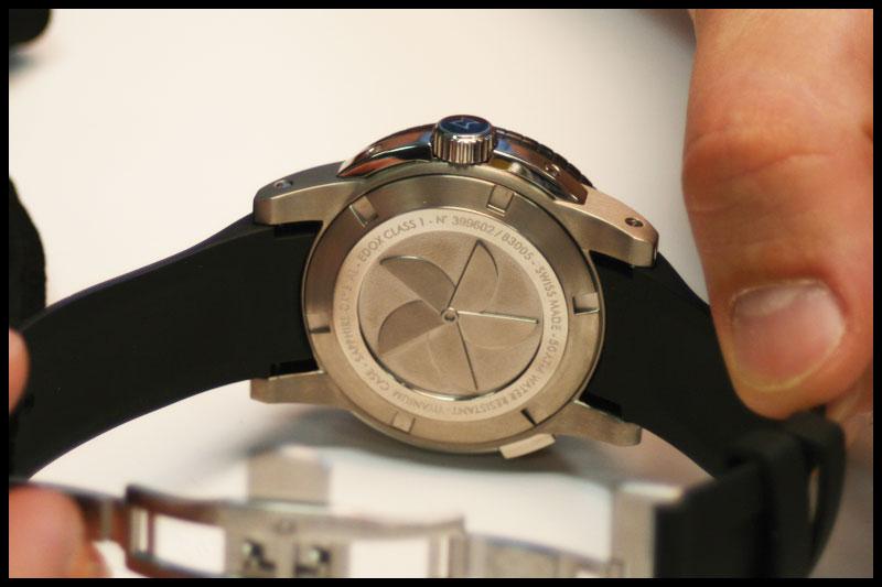 EDOX - la gamme Class One Fond10