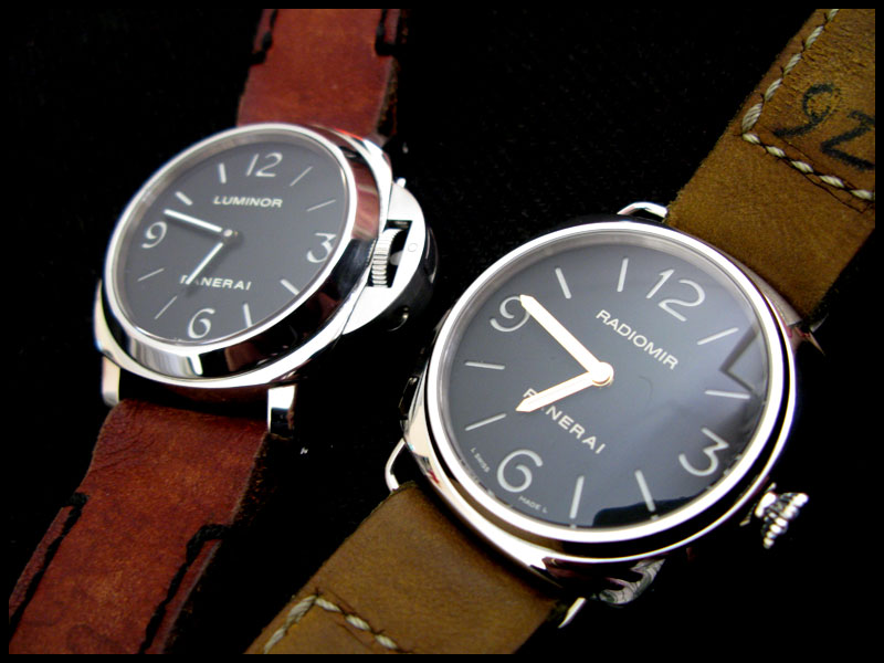 112 vs 210, Luminor vs Radiomir >>> Pam110