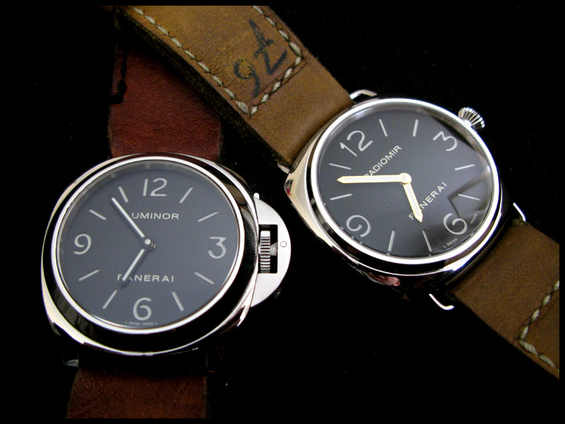 112 vs 210, Luminor vs Radiomir >>> Pam510