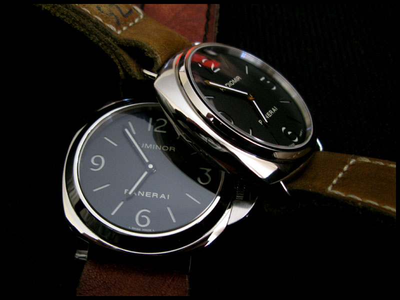 112 vs 210, Luminor vs Radiomir >>> Pam610