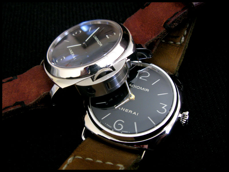 112 vs 210, Luminor vs Radiomir >>> Pam710