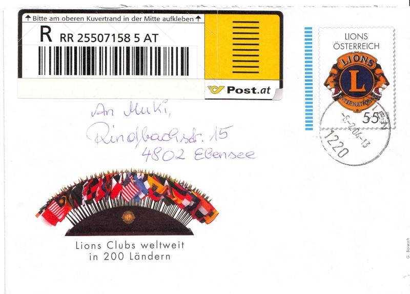 Amtliche Briefumschläge Republik Österreich, gelaufen Ganzsa10