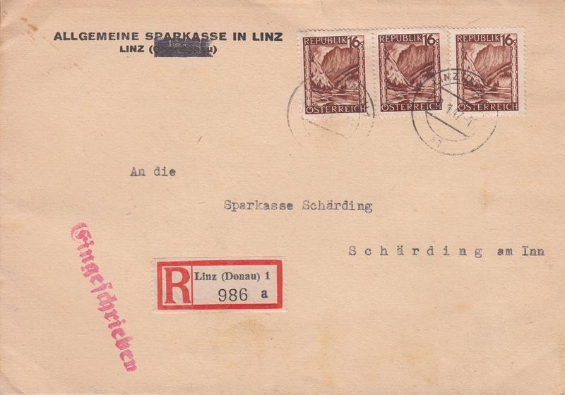 Briefe / Poststücke österreichischer Banken - Seite 4 Img108