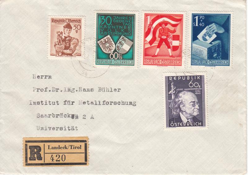 Sammlung Bedarfsbriefe Österreich ab 1945 - Seite 9 Img122