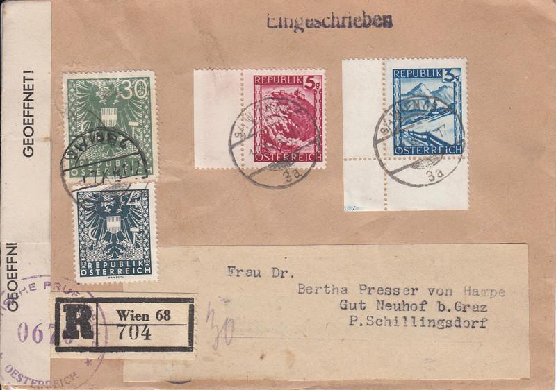 Wappenzeichnung  -  ANK 714-736 - Belege - Seite 4 Img123