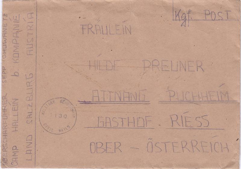 Kriegsgefangenenpost II. Weltkrieg (Österreich) Img134