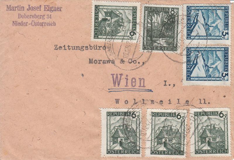 Österreich 2. Währungsreform 10.12.1947 - Belege Img15